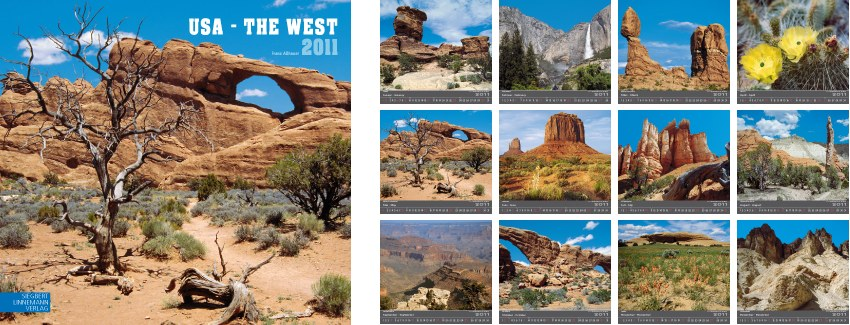 USA : THE WEST 2011