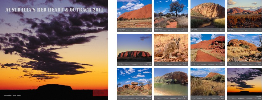 AUSTRALIA´S RED HEART AND OUTBACK 2011